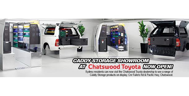 Superior Caddy Storage