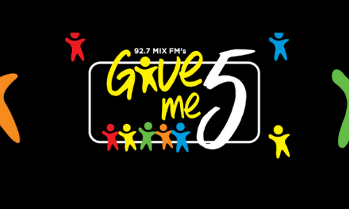 Sunshine Toyota is supporting MIXFMs GIve Me 5 Campaign - book your test drive today!