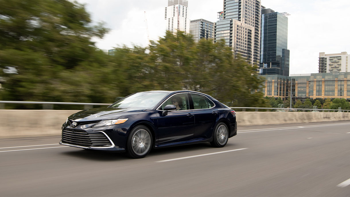 Camry Facelift driving