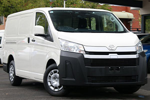 2020 Toyota HiAce LWB vans .