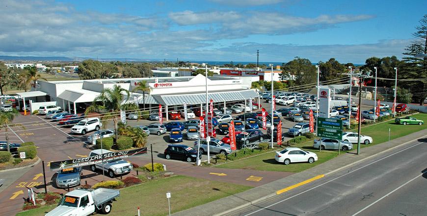 CMI Toyota Christies Beach dealership