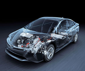 Toyota Hybrid Lower Emissions