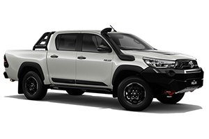 Brand New 2018 Toyota HiLux Rugged X 4x4 Double-Cab Pick-up (Crystal Pearl)