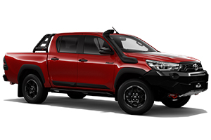 Brand New 2018 Toyota HiLux Rugged X 4x4 Double-Cab Pick-up (Olympia Red)