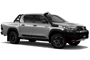 Brand New 2018 Toyota HiLux Rugged X 4x4 Double-Cab Pick-up (Silver Sky)