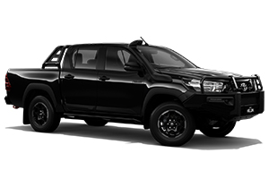 Brand New 2018 Toyota HiLux Rugged 4x4 Double-Cab Pick-up (Eclipse Black)