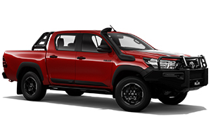 Brand New 2018 Toyota HiLux Rugged 4x4 Double-Cab Pick-up (Olympia Red)