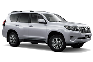 Brand New 2018 Toyota Prado GXL Turbo-diesel (Silver Pearl) with Flat Tailgate