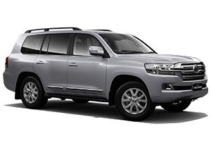 Brand New 2018 Toyota LandCruiser 200 Sahara Turbo-diesel (Silver Pearl)