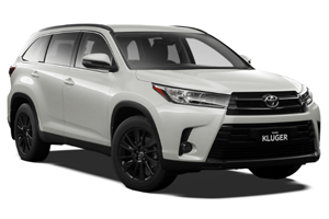 Brand New 2019 Toyota Kluger Black Edition 2WD (Crystal Pearl)
