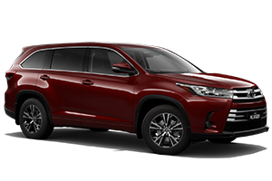 Brand New 2019 Toyota Kluger GX AWD (Merlot Red)