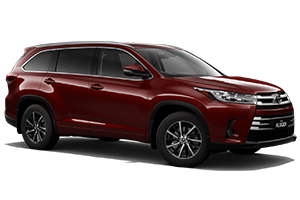 Brand New 2019 Toyota Kluger GXL AWD (Merlot Red)