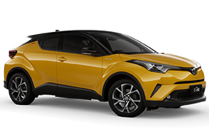 Brand New 2019 Toyota C-HR Koba AWD Automatic CVT (Hornet Yellow with Black Roof)