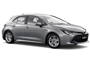 Brand New 2018 Toyota Corolla Ascent Sport Hatch Hybrid (Silver Pearl) with Satellite Navigation