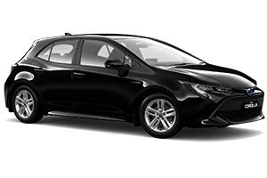 Brand New 2018 Toyota Corolla Ascent Sport Hatch Hybrid (Eclipse Black) with Satellite Navigation