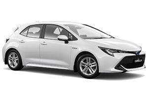 Brand New 2019 Toyota Corolla Ascent Sport Hatch Hybrid (Glacier White)