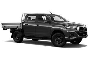 Brand New 2019 Toyota HiLux 4x4 SR Double-Cab Cab-Chassis (Graphite)