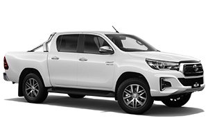 Brand New 2019 Toyota HiLux 4x4 SR5 Double-Cab Pick-up (Glacier White)