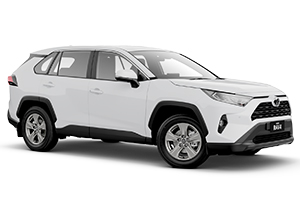 Brand New 2019 Toyota RAV4 GX 2WD Automatic CVT (Glacier White) with Satellite Navigation