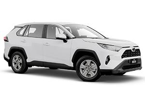 Brand New 2019 Toyota RAV4 GX 2WD Automatic CVT (Glacier White) with Satellite Navigation
