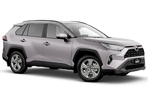 Brand New 2019 Toyota RAV4 GXL 2WD Automatic CVT (Silver Sky)