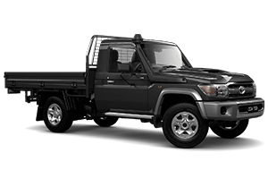 Brand New 2019 Toyota LandCruiser 70 GXL Single-Cab Cab-Chassis (Graphite)