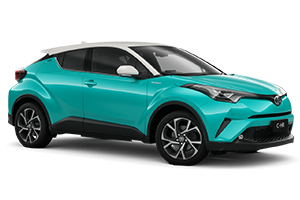 Brand New 2019 Toyota C-HR Koba AWD Automatic CVT (Electric Teal with White Roof)