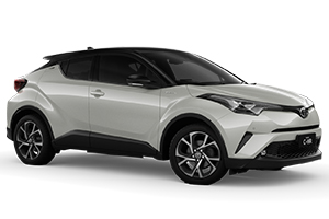 Brand New 2019 Toyota C-HR Koba AWD Automatic CVT (Crystal Pearl with Black Roof)