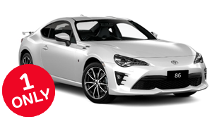 Brand New 2017 Toyota 86 GTS Automatic (White Liquid)