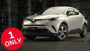 Brand New 2017 Toyota C-HR 2WD CVT (Crystal Pearl)
