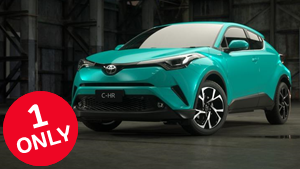 Brand New 2017 Toyota C-HR Koba 2WD CVT (Electric Teal)