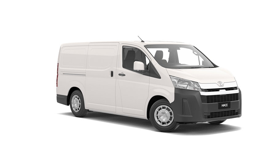 Toyota Hiace LWB Van at Sunshine Toyota on the Sunshine Coast! Perfect for your business or recreational needs!