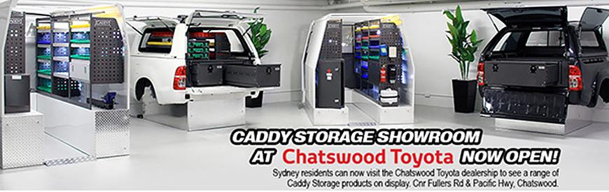 Chatswood Toyota | Sydney | Caddy Storage