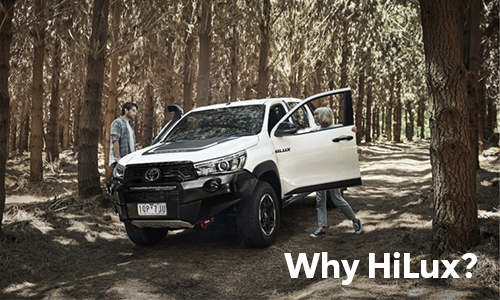 Why choose Toyota HiLux? Read more in our latest blog article at Sunshine Toyota!