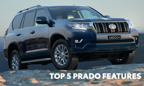 What are our Top 5 Prado Features? Read our blog to find out more. Sunshine Toyota on the Sunshine Coast!