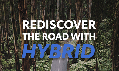 Rediscover the road with HYBRID! Ask us now at Sunshine Toyota!
