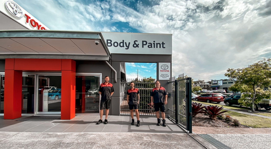 Body and Paint | Smash Repair | Sunshine Toyota on the Sunshine Coast!