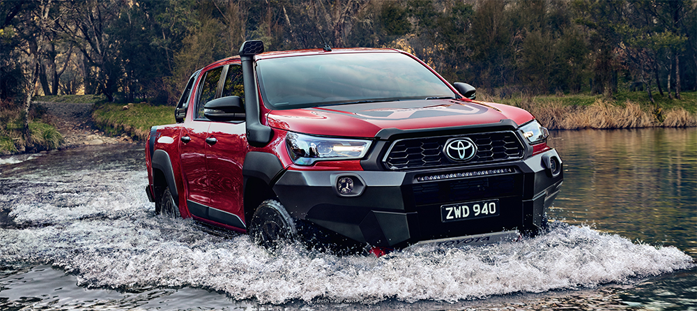The Toyota HiLux Rugged X is available soon at Sunshine Toyota on the Sunshine Coast! Book a test drive today!