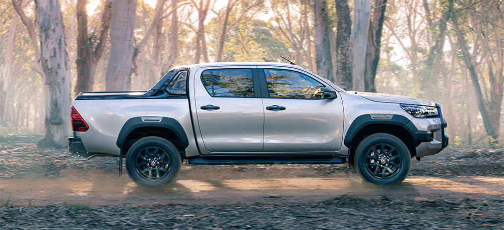 The Toyota HiLux Rogue is available soon at Sunshine Toyota on the Sunshine Coast! Book a test drive today!