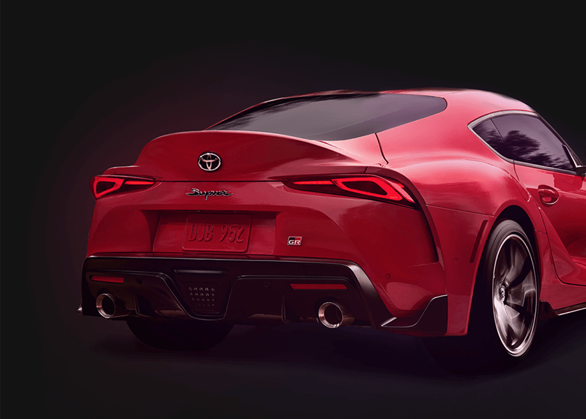 Advanced safety features in the all new GR Supra at Sunshine Toyota on the Sunshine Coast!