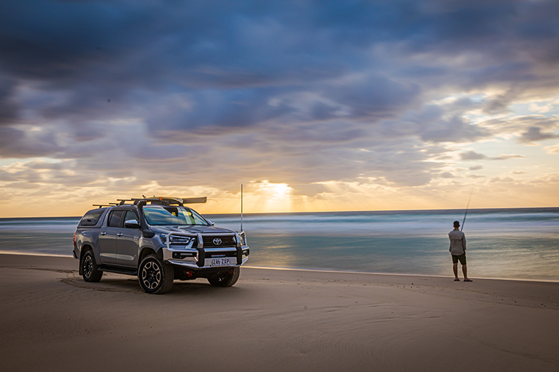 The Toyota HiLux SR5 - available now to test drive at Sunshine Toyota on the Sunshine Coast!