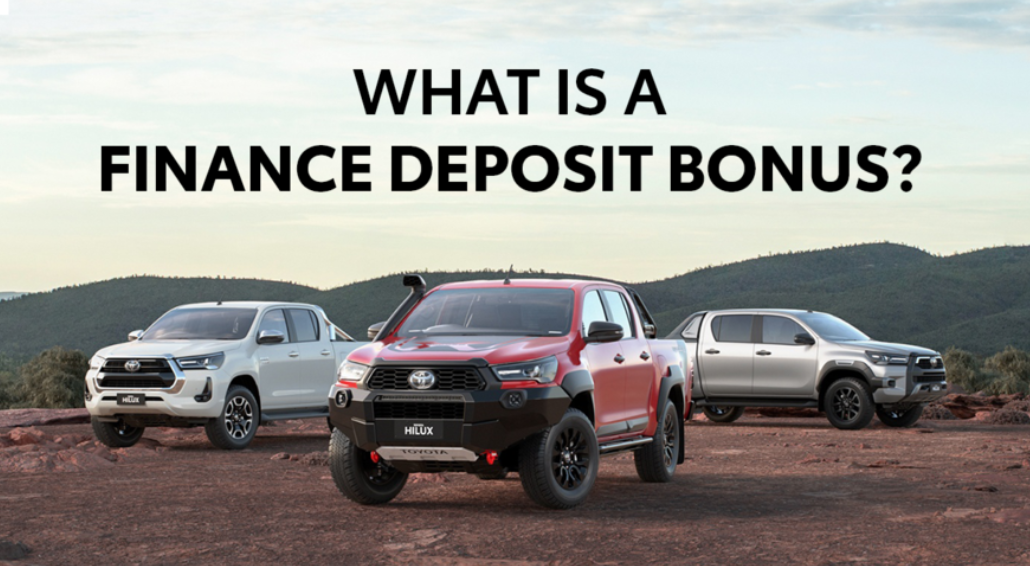 what is a finance deposit bonus sunshine coast