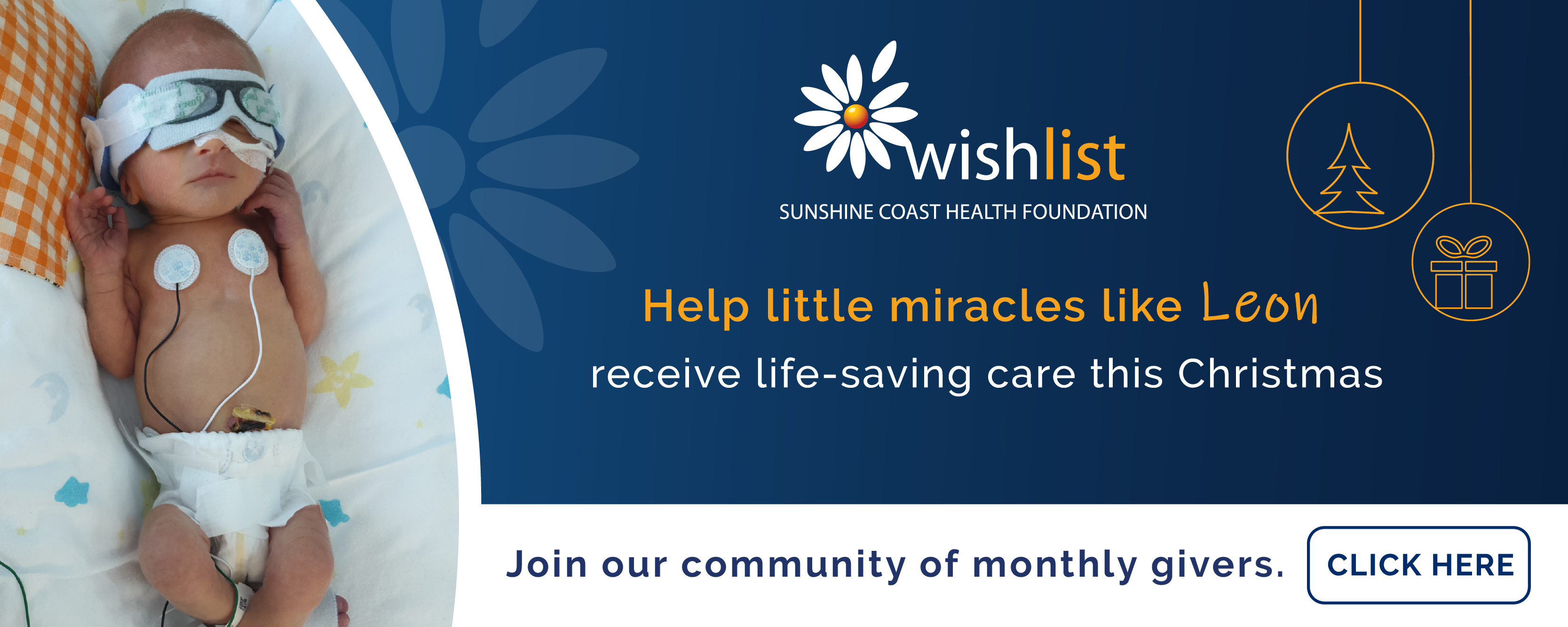 Wishlist House - Give a little & help a lot. Proudly supported by Sunshine Toyota on the Sunshine Coast!