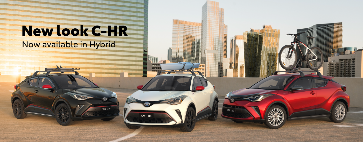The Toyota C-HR is the perfect compact SUV packed with safety, style & technology. Book your C-HR test drive today at Sunshine Toyota on the Sunshine Coast!
