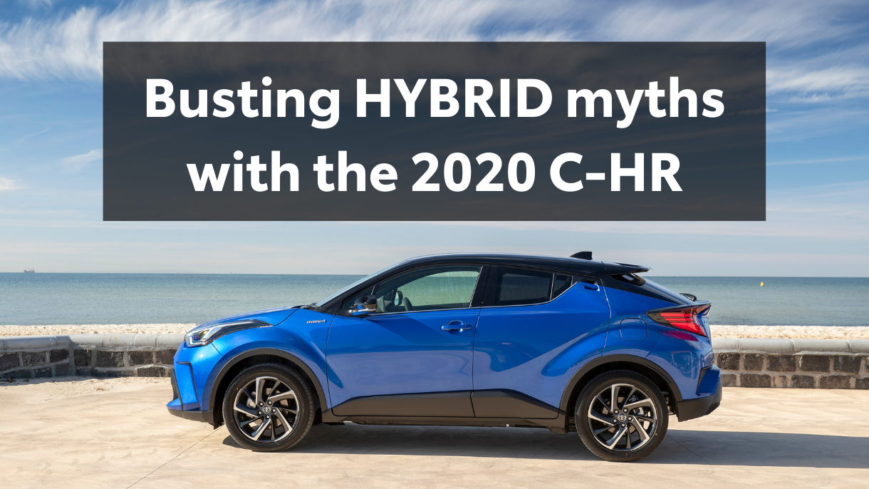 Busting Toyota HYBRID myths with the 2020 C-HR. Read more on Sunshine Toyota's Blog!