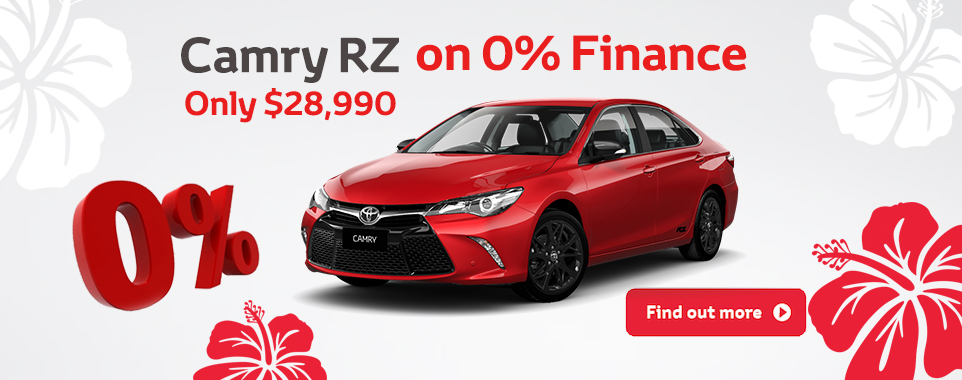 Camry RZ clearance
