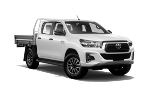 NEW 2019 Hilux SR 4x4 Dual Cab Cab Chassis TD Auto
