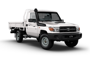 2018 Landcruiser Workmate Single Cab Cab Chassis TD Manual