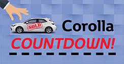 Corolla Countdown