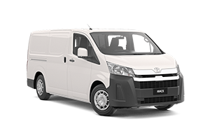 NEW 2019 Hiace LWB Van Petrol Manual